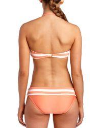 Ella Moss - Orange Cabana Banded Bottom - Lyst