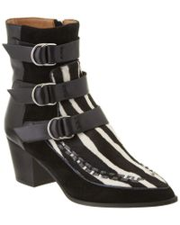 Isabel Marant - Black Dickey Buckle Leather Boot - Lyst