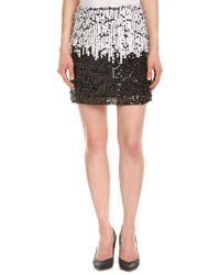 French Connection - Black Cosmic Beam A-line Skirt - Lyst