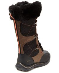 Jambu - Black Broadway Waterproof Leather Winter Boot - Lyst