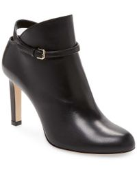 Jimmy Choo - Black Tor Leather Ankle Boots - Lyst
