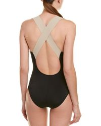 La Blanca - Black Bondage One-piece - Lyst