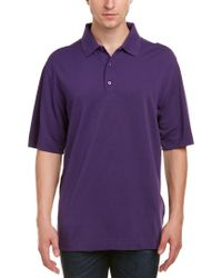 Cutter & Buck - Purple Drytec Championship Polo for Men - Lyst