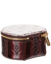Louis Vuitton - Multicolor Amarante Monogram Vernis Leather Bijoux Jewelry Case - Lyst