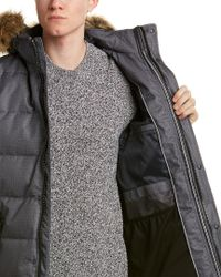 Nautica - Gray Parka for Men - Lyst