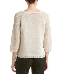 Magaschoni - Natural Sweater - Lyst
