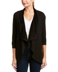 NYDJ - Black Cascade Sweater - Lyst