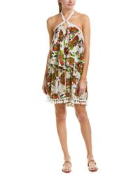 Raga - Green Tropical Paradise Shift Dress - Lyst