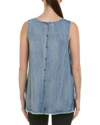 Billy T - Blue Denim Top - Lyst
