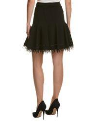 Elie Tahari - Black A-line Skirt - Lyst