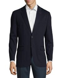 Tommy Hilfiger - Blue Notch Lapel Sportcoat for Men - Lyst