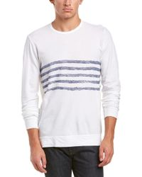 Velvet By Graham & Spencer - White Top for Men - Lyst
