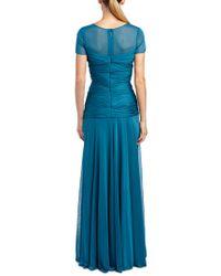 Halston Heritage - Green Gown - Lyst
