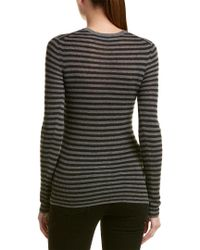 Vince - Multicolor Striped Cashmere Sweater - Lyst
