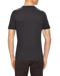 Ermenegildo Zegna - Black Z Striped Crewneck T-shirt for Men - Lyst