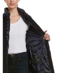 Dawn Levy - Blue Parker Wool-blend Coat Vest Combo - Lyst