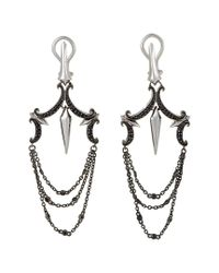 Stephen Webster - Metallic 14k & Silver 0.49 Ct. Tw. Sapphire Drop Earrings - Lyst