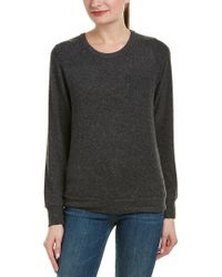 Chaser Black Woven Cutout Pullover