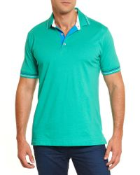 Robert Graham - Green Sea Breeze Classic Fit Polo Shirt for Men - Lyst
