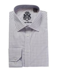 English Laundry - Gray Classic Fit Dress Shirt for Men - Lyst