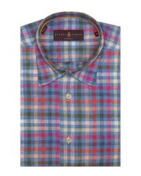 Robert Talbott - Blue Anderson Ii Classic Fit Linen Dress Shirt for Men - Lyst