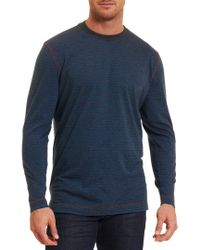 Robert Graham - Blue Roberto Classic Fit Pullover for Men - Lyst