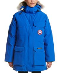Canada Goose Blue Pbi Expedition Parka