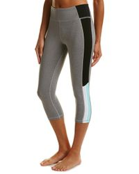 Trina Turk - Gray Reaction Colorblock High-waist Legging - Lyst