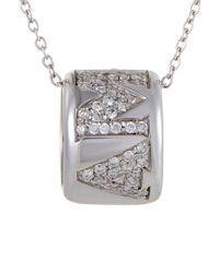 Pasquale Bruni Multicolor Amore 18k 0.51 Ct. Tw. Diamond & Sapphire Necklace