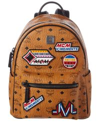 MCM - Multicolor Stark Victory Patch Visetos Backpack - Lyst