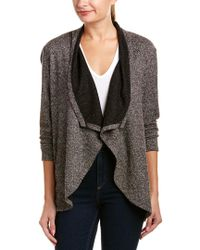 NYDJ - Gray Cascade Sweater - Lyst