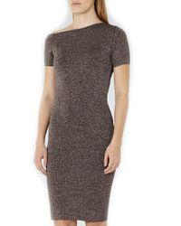 Reiss - Gray Luna Sheath Dress - Lyst
