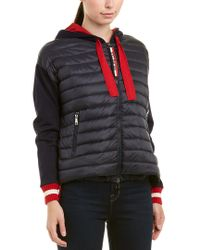 Moncler - Blue Maglia Cardigan Jacket - Lyst