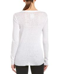 Chaser - White Lace-up Top - Lyst