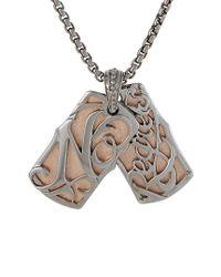 Stephen Webster - Metallic Men's Silver & Rhodium Necklace for Men - Lyst