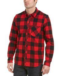 Hudson - Red Weston Woven Shirt for Men - Lyst