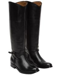 Frye - Black Melissa Seam Tall Boot - Lyst