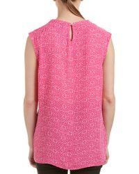 Cece by Cynthia Steffe - Pink Blouse - Lyst