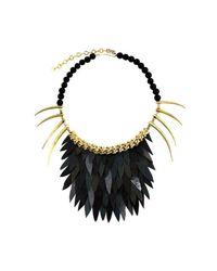 Ayaka Nishi | Short Black Fishscale Necklace | Lyst