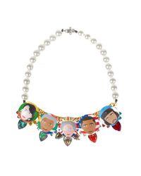 Bijoux De Famille - Multicolor Rule Me Plastron Necklace - Lyst