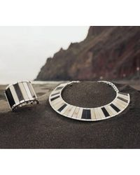 Hissia | Multicolor Saba Ebony Bracelet | Lyst