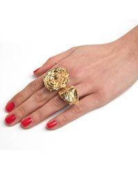 Leivan Kash | Multicolor Olivia Rose Ring | Lyst