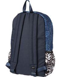 RVCA - Blue Backside Pr Backpack for Men - Lyst