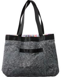 RVCA - Multicolor Psychedelic Tote Bag - Lyst