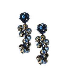 Sachin & Babi - Blue Marble Coconuts - Navy - Lyst
