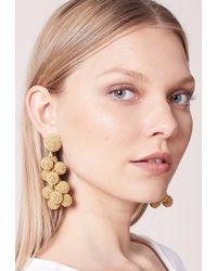 Sachin & Babi - Metallic Coconuts Earrings | Yellow Gold - Lyst