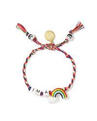 Venessa Arizaga | Multicolor I'm A Rainbow Bracelet | Lyst
