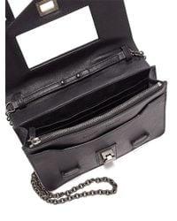 Proenza Schouler - Black Ps1 Leather Chain Wallet - Lyst