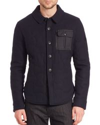 Spiewak | Black Quilted Cpo Jacket for Men | Lyst