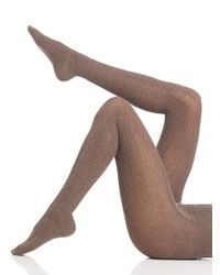 Falke | Brown Striggings Cable Tights | Lyst